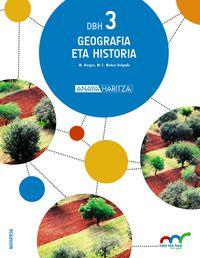 Dbh 3 - Geografia Eta Historia - Hazi Eta Hezi Bat Eginik (nav) - Batzuk