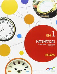 eso 1 - matematicas (and, ara) - apren. crec. conexion - Aa. Vv.