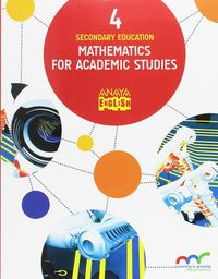 ESO 4 - MATHEMATICS FOR ACADEMIC STUDIES (AND)