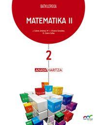 BATX 2 - MATEMATIKA NNZZ (PV, NAV) - HAZI ETA HEZI BAT EGINIK