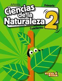 EP 2 - CIENCIAS NATURALEZA CUAD - PIEZA A PIEZA (ARA, AST, BAL, CAN, CANT, CYL, CLM, CEU, MEL, EXT, LRIO, MAD, MUR, NAV, C. VAL)