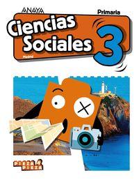 EP 3 - CIENCIAS SOCIALES (MAD) - PIEZA A PIEZA