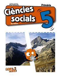 EP 5 - CIENCIES SOCIALS (BAL) - PEÇA A PEÇA