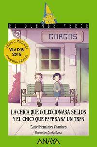 CHICA QUE COLECCIONABA SELLOS Y EL CHICO QUE ESPERABA UN TREN, LA
