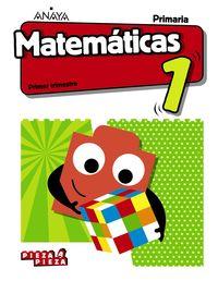EP 1 - MATEMATICAS (AND) (+TALLER RESOLUCION PROBLEMAS) - PIEZA A PIEZA