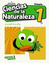 EP 1 - CIENCIAS NATURALEZA (AND) CUADRICULA - PIEZA A PIEZA