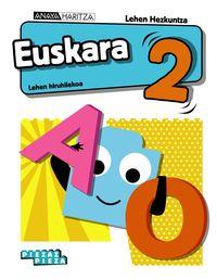 LH 2 - EUSKARA - PIEZAZ PIEZA