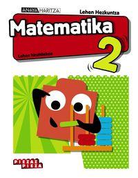 LH 2 - MATEMATIKA - PIEZAZ PIEZA