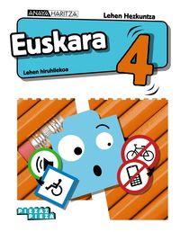 LH 4 - EUSKARA - PIEZAZ PIEZA