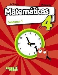 EP 4 - MATEMATICAS CUAD 1 (ARA, CEU, MEL, NAV, LRIO) - PIEZA A PIEZA