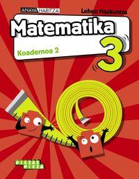 Lh 3 - Matematika Koad 2 - Piezaz Pieza - Luis Ferrero De Pablo / Pablo Martin Martin / Jose Manuel Gomez Quesada