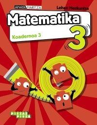 Lh 3 - Matematika Koad 3 - Piezaz Pieza - Luis Ferrero De Pablo / Pablo Martin Martin / Jose Manuel Gomez Quesada