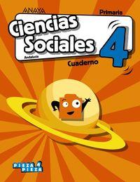 EP 4 - CIENCIAS SOCIALES (AND) CUAD - PIEZA A PIEZA
