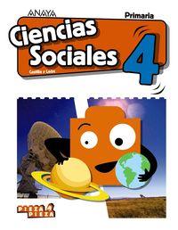 EP 4 - CIENCIAS SOCIALES (CYL) - PIEZA A PIEZA