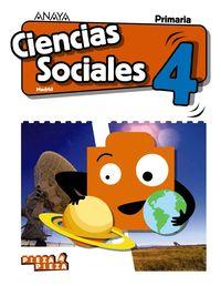 EP 4 - CIENCIAS SOCIALES (MAD) - PIEZA A PIEZA