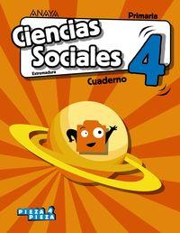 EP 4 - CIENCIAS SOCIALES (EXT) CUAD - PIEZA A PIEZA