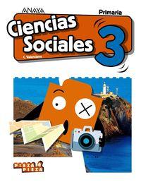 EP 3 - CIENCIAS SOCIALES (C. VAL) (CASTELLANO) - PIEZA A PIEZA
