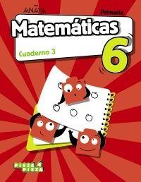 EP 6 - MATEMATICAS CUAD 3 (AND, ARA, AST, BAL, CAN, CLM, C. VAL, EXT, MUR) - PIEZA A PIEZA