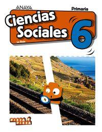 Ep 6 - Ciencias Sociales (lrio) - Pieza A Pieza - Jose Kelliam Benitez Orea / Jose Alberto Cano Carretero / Eduardo Fernandez Friera / Antonio Bustos Jimenez