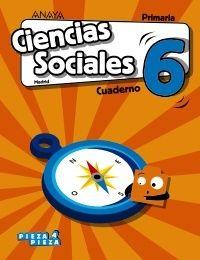 Ep 6 - Ciencias Sociales (mad) Cuad - Pieza A Pieza - Mª Jose Pastor Ortega