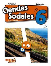 EP 6 - CIENCIAS SOCIALES (MUR) - PIEZA A PIEZA