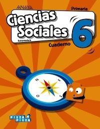 Ep 6 - Ciencias Sociales (ext) Cuad - Pieza A Pieza - Mª Jose Pastor Ortega