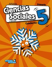 EP 5 - CIENCIAS SOCIALES (C. VAL) (CASTELLANO) CUAD - PIEZA A PIEZA