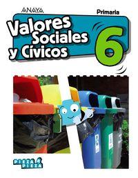 EP 6 - VALORES SOCIALES Y CIVICOS (ARA, AST, BAL, CAN, CANT, CYL, CLM, CEU, MEL, EXT, LRIO, MAD, MUR, NAV) - PIEZA A PIEZA