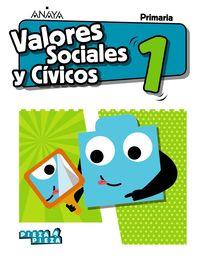 EP 1 - VALORES SOCIALES Y CIVICOS (AND) - PIEZA A PIEZA