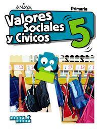 EP 5 - VALORES CIVICOS Y SOCIALES (AND) - PIEZA A PIEZA