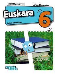 LH 6 - EUSKARA (NAV, PV) - PIEZAZ PIEZA