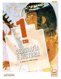 ESO 1 - GEOGRAFIA E HISTORIA (COLEG BILINGUES) (AND) - SUMA PIEZAS