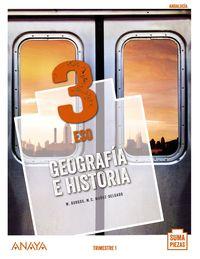 ESO 3 - GEOGRAFIA E HISTORIA (TRIM) (COLEG BILINGUES) (AND) - SUMA PIEZAS