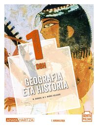 DBH 1 - GEOGRAFIA ETA HISTORIA (PV) - GEHITU PIEZAK