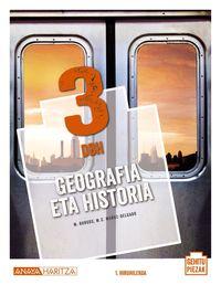DBH 3 - GEOGRAFIA ETA HISTORIA (PV) - GEHITU PIEZAK
