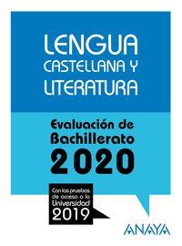 Lengua Castellana Y Literatura - Evau - Aa. Vv.