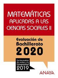 MATEMATICAS CCSS II - EVAU