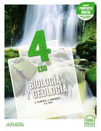 ESO 4 - BIOLOGIA Y GEOLOGIA (AND) (+DUAL FOCUS) - SUMA PIEZAS