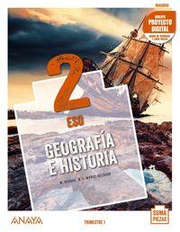 ESO 2 - GEOGRAFIA E HISTORIA (MAD) - SUMA PIEZAS