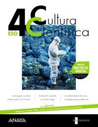 ESO 4 - CULTURA CIENTIFICA - A TU MANERA