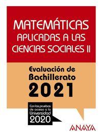 matematicas ccss ii - evau 2021 - Aa. Vv.