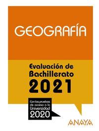 geografia - evau 2021 - Aa. Vv.