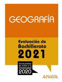 GEOGRAFIA - EVAU 2021