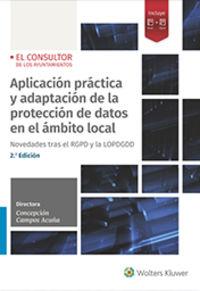 (2 ED) APLICACION PRACTICA Y ADAPTACION DE LA PROTECCION DE DATOS EN EL AMBITO LOCAL
