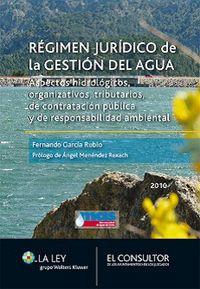 Regimen Juridico De La Gestion Del Agua - Aa. Vv.