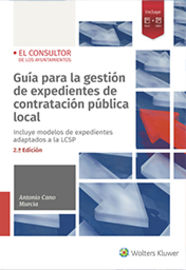 (2 ED) GUIA PARA LA GESTION DE EXPEDIENTES DE CONTRATACION PUBLICA LOCAL