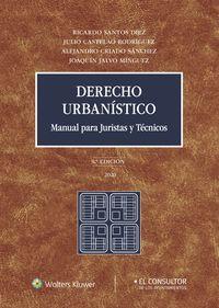 (9 ED) DERECHO URBANISTICO - MANUAL PARA JURISTAS Y TECNICOS