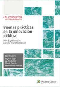 BUENAS PRACTICAS EN LA INNOVACION PUBLICA - 50+1 EXPERIENCIAS PARA LA TRANSFORMACION