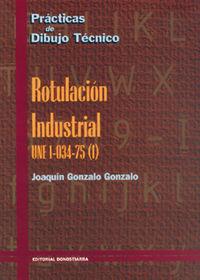 ROTULACION INDUSTRIAL - PRACTICAS DIBUJO TECNICO