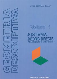 GEOMETRIA DESCRIPTIVA 1 - SISTEMA DIEDRIC DIRECTE